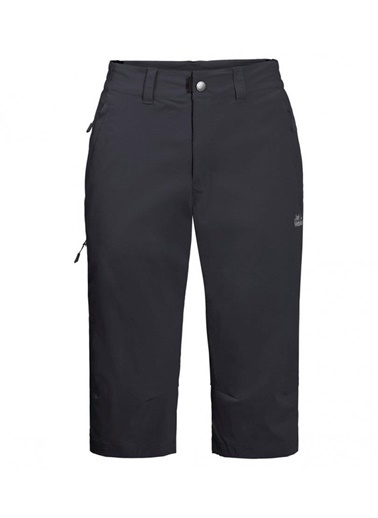 Jack Wolfskin Activate Light 3/4 Pants Erkek şort - 1505491-6350 Gri